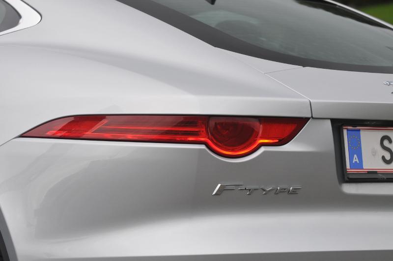 Galerie K čl 225 Nku Test Jaguar F Type S Coupe Mil 225 Kr 225 Ska I